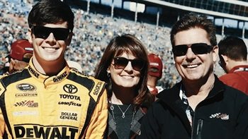 Erik Jones Opens Up About His Late Father I NASCAR RACEDAY