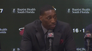 Bam Adebayo - Miami Heat press conference (Part 1)