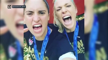 USWNT, fans celebrate world Cup title on social media