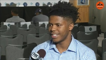 Wolves pick Justin Patton: 'I'll be on the court soon'