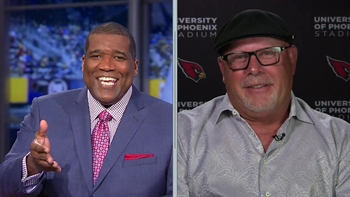 Bruce Arians talks thrilling win over Green Bay Packers with FOX NFL Sunday crew