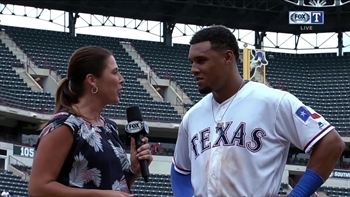 Huge day for Carlos Gomez in Rangers' 11-4 win