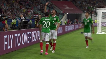 Oribe Peralta makes it 2-1 for Mexico vs. New Zealand | 2017 FIFA Confederations Cup Highlights