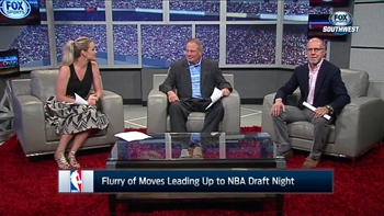 Flurry of moves in NBA Draft | SportsDay OnAir