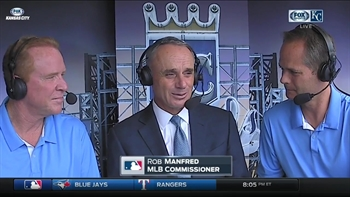 MLB commish Rob Manfred on Royals legend Buck O'Neil