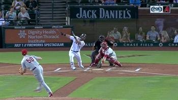 HIGHLIGHTS: Corbin strong but Phillies rookie shuts down D-backs