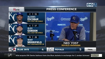 Ned Yost: 'Any time you finish like that it's great'