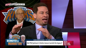 Did Phil Jackson's Knicks tenure tarnish his legacy? | SPEAK FOR YOURSELF