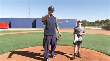 Rays Demo: Doug Waechter explains the towel drill
