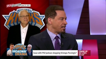 Is Kristaps Porzingis drama showing Phil Jackson is overrated? | SPEAK FOR YOURSELF