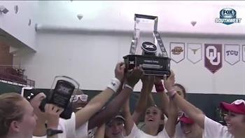 Texas Tech Women's Tennis wins Big 12 tournament title