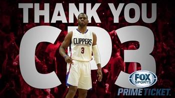 Thank you, CP3