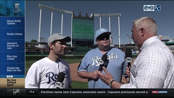 Paul Rudd and Eric Stonestreet discuss Big Slick celebrity softball game