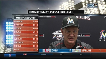 Marlins' Don Mattingly: 'It seemed like that kind of night'