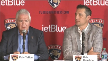 Florida Panthers' Bob Boughner introductory press conference Part 3