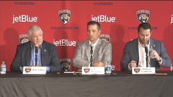 Florida Panthers' Bob Boughner introductory press conference Part 1
