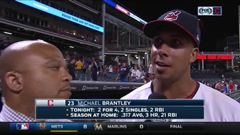 Michael Brantley explains why he's able to ease back into the lineup after time away