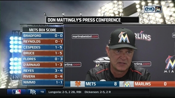 Don Mattingly: We just couldn't get much going tonight
