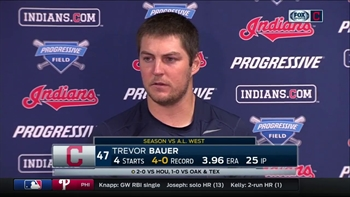 Indians starter Trevor Bauer finding success going to breaking ball early