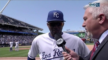 Alcides Escobar: 'I feel really comfortable with Vargas pitching'