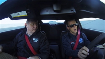 Riding Shotgun with AJ Allmendinger I NASCAR RACEDAY