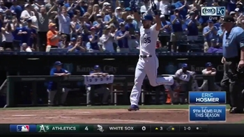 WATCH: Escobar and Gordon triple, Hosmer homers in Royals victory