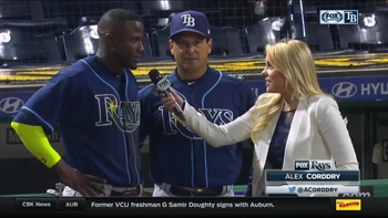 Adeiny Hechavarria 'already feeling at home' with Rays