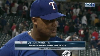 Adrian Beltre lifts Rangers in win over Indians