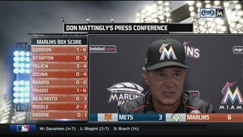 Don Mattingly breaks down win over Mets