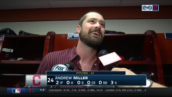 Andrew Miller on escaping bases-loaded jam: 'A lot of things went right.'