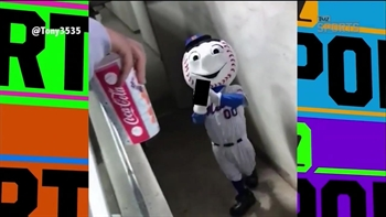 Jon Stewart comments on Mr. Met flicking off New York fans | TMZ SPORTS
