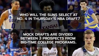 Mocks roundup: Suns to choose between Fox, Jackson, Tatum