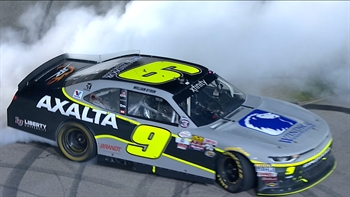 William Byron Wins First Career Race at Iowa | 2017 XFINITY SERIES | FOX NASCAR