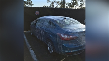Don't ever park in Jacob deGrom's parking spot