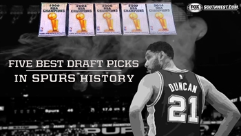 Five best NBA Draft picks in Spurs history