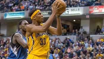 Larry Bird assesses Myles Turner's growth as a player