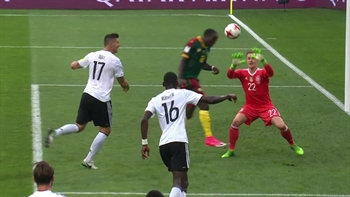 Vincent Aboubakar scores for Cameroon | 2017 FIFA Confederations Cup Highlights
