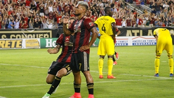 Atlanta United LIVE to Go: Almiron, Martinez help Atlanta United pull past Crew