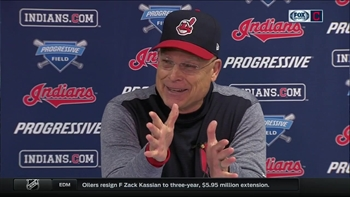 Brad Mills, filling in for Terry Francona, breaks down Tribe's comeback victory