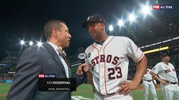 c88d16fdc585a7 Best mic'd up moments of the 2019 MLB All-Star Game | FOX Sports