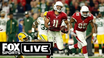 Fitzgerald puts Cardinals on top after Rodgers' Hail Mary forces OT