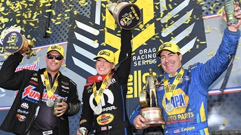 Tanner Gray clinches 2018 Pro Stock championship | 2018 NHRA