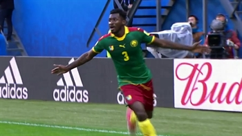 Zambo Anguissa chips it in to make it 1-0 for Cameroon | 2017 FIFA Confederations Cup Highlights