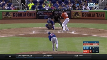 HIGHLIGHT: Giancarlo Stanton goes deep for 20th home run this season