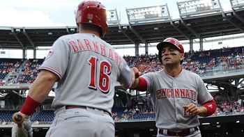 HIGHLIGHTS: Reds get out to early lead in D.C. with 5-run first