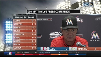 Don Mattingly says the Marlins' confidence has been restored