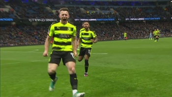 Harry Bunn scores for Huddersfield against Manchester City | 2016-17 FA Cup Highlights