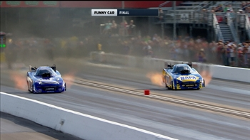 Ron Capps Wins Funny Car Final at Bristol | 2017 NHRA DRAG RACING