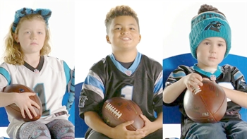 'Sunday Giveaway' brings more than smiles to young Panthers fans