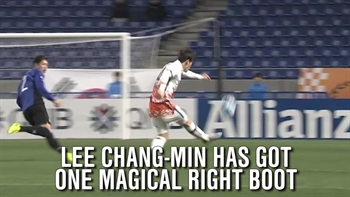 Check out this outrageous half line goal